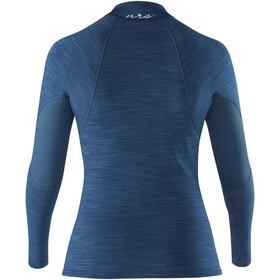 NRS HydroSkin 0.5 Camiseta de manga larga Mujer, moroccan blue